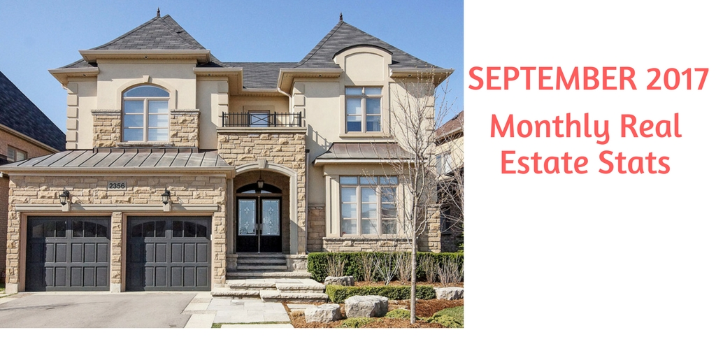 Oakville,Milton,Burlington and Mississauga September 2017 Real Estate Report